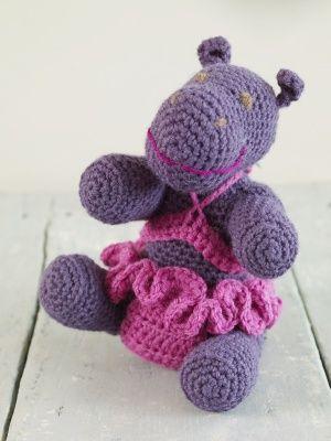 Traduction Amigurumi Hippo au crochet