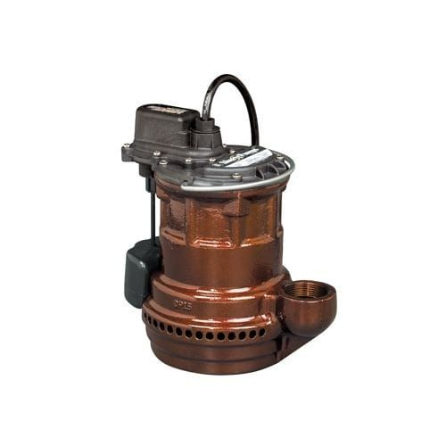 Liberty Pumps S247 1/4 HP Submersible Sump Pump with Vertical Magnetic Float, Silver stainless steel