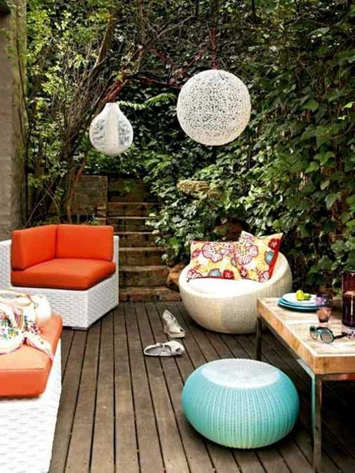 22 Porch, Gazebo and Backyard Patio Ideas Creating Beautiful Outdoor Rooms in Summer #Anthropologie #PintoWin