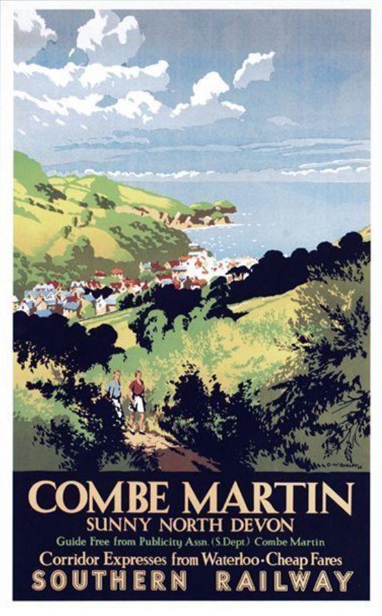 Combe Martin Devon