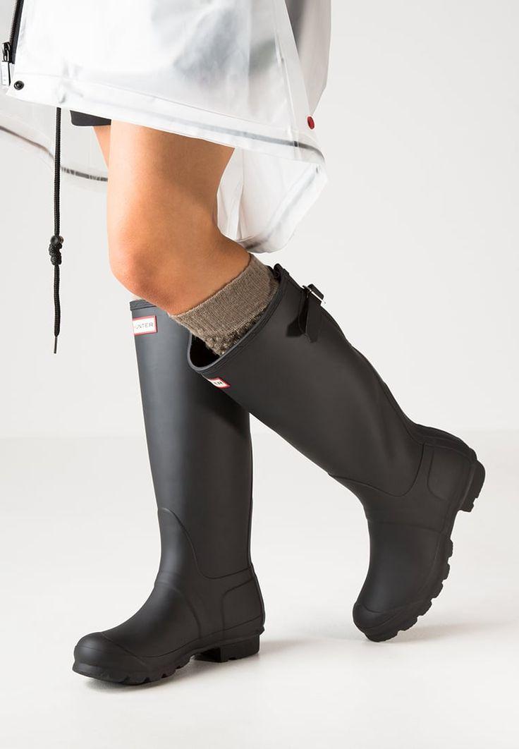 Bestill Hunter Gummistøvler - black for kr 1295,00 (28.09.16) med gratis frakt på Zalando.no