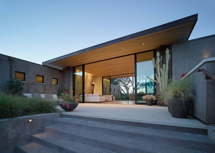 San Anselmo Marin County Modern Roof. House In San Anselmo By Robert Stiles  Architecture