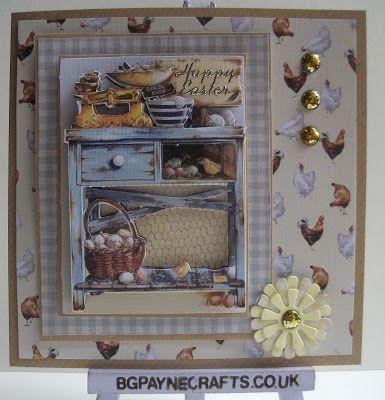 BGPayne Crafts : Country Life Spring Dresser