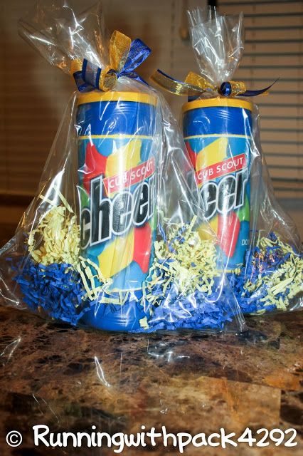 Cheer container from Lays stax