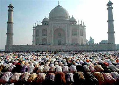 where muslim worship or go pray.