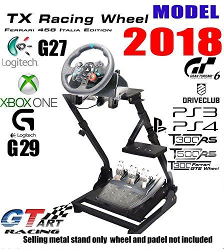 Gt art Racing Simulator Steering Wheel Stand for logitech