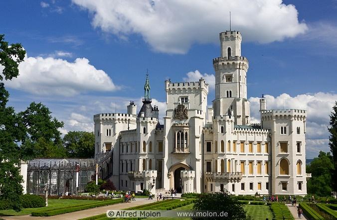 nad vltavou castle - photo #3