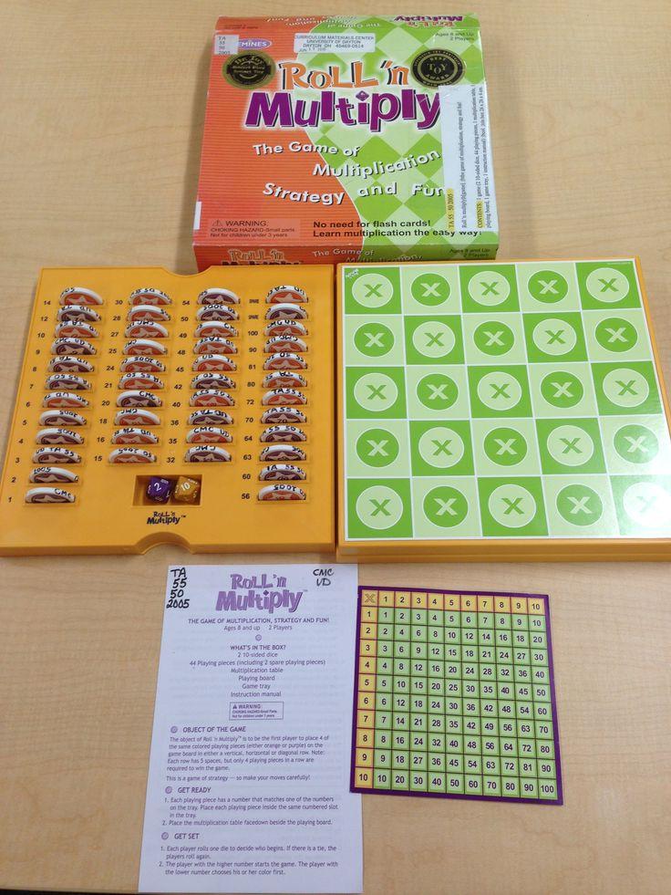 Roll u0027n Multiply the game of multiplication