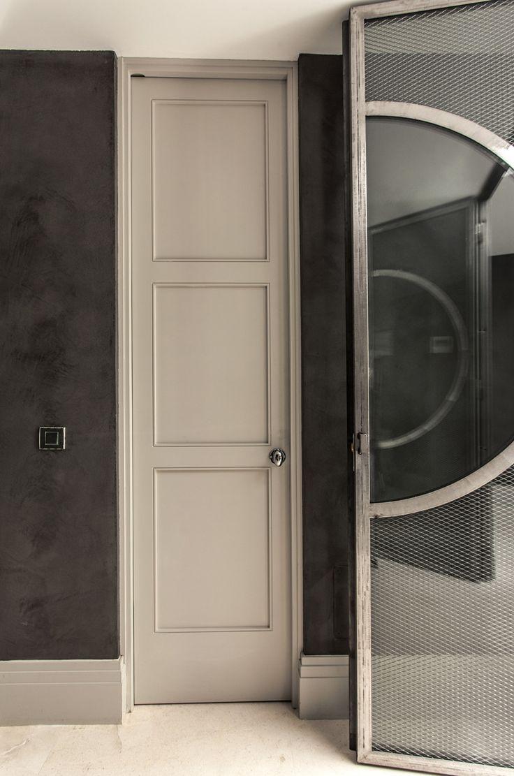 M s de 1000 ideas sobre puertas de hierro en pinterest - Puertas acristaladas exterior ...