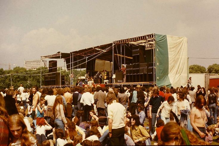 The Hyde Park Free Concerts 1968-1976