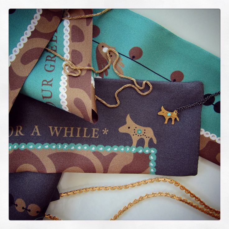 Two Grecian chic silk ribbons specially designed for Katerina Ioannidis!