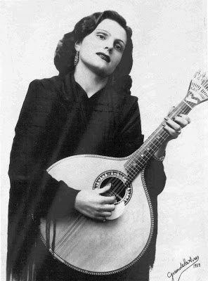 Amália Rodrigues- Portuguese fadista (Fado singer)