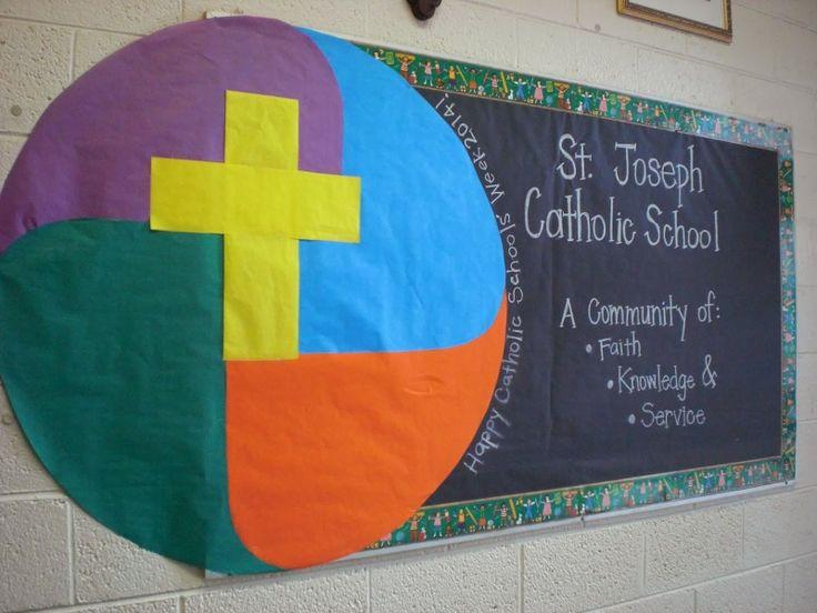 Catholic Schools' Week 2014 Bulletin Board