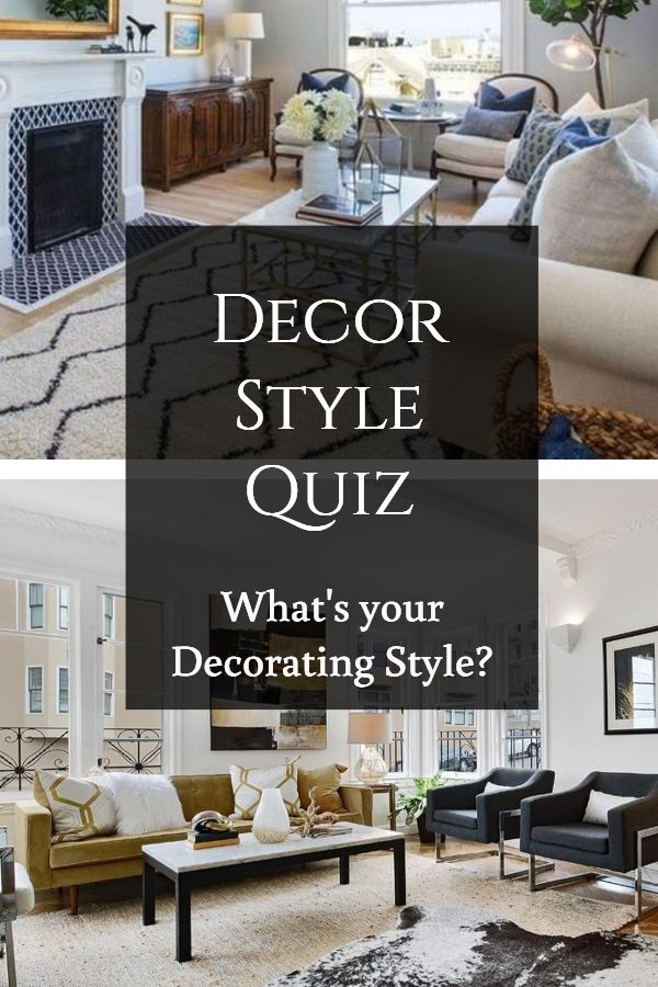 Fun quiz to find your decorating style | Home Decor in 2019 ...