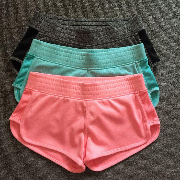 2015 Высокое качество летний стиль высокого класса на женский марафон спортивные шорты фитнес-противоугонные шорты для бега женщин 3SP006