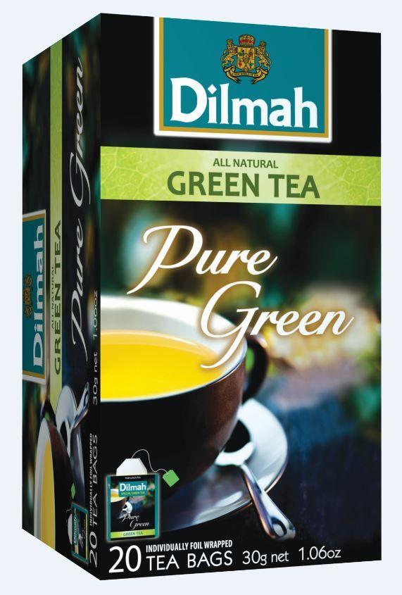 Esenca pravega zelenega čaja Dilmah
