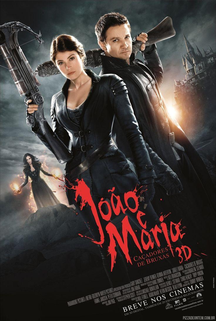 """Hansel & Gretel - Witch Hunters"" in Portuguese: ""João e Maria - Caçadores de bruxas"" (Translation: ""John and Mary - Witch Hunters"")"