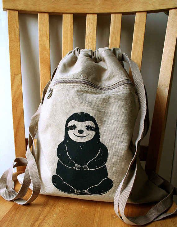27Adorable Things Every Sloth Lover Needs | This perfect adventure backpack.