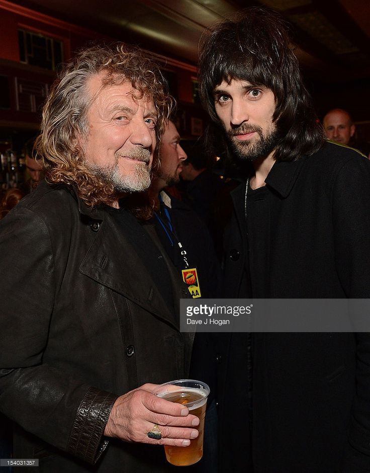<a gi-track='captionPersonalityLinkClicked' href=/galleries/search?phrase=Robert+Plant&family=editorial&specificpeople=211368 ng-click='$event.stopPropagation()'>Robert Plant</a> from Led Zeppelin (L) and <a gi-track='captionPersonalityLinkClicked' href=/galleries/search?phrase=Serge+Pizzorno&family=editorial&specificpeople=212934 ng-click='$event.stopPropagation()'>Serge Pizzorno</a> of Kasabian attend the UK Premiere of 'Led Zeppelin: Celebration Day' at Hammersmith Apollo on October 12…