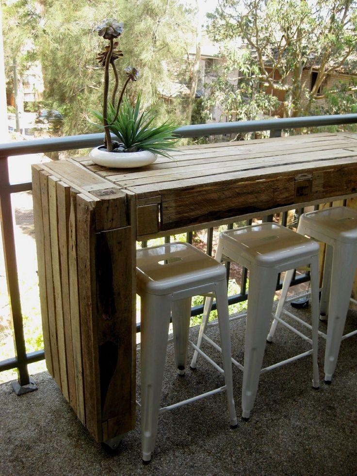 Mesa Para Terraza Reciclada · Outdoor Bar StoolsOutdoor ...