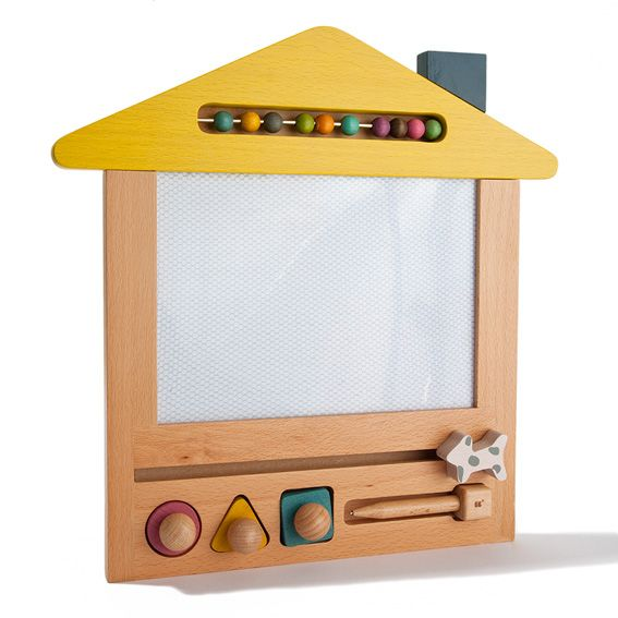 Japanese House Shaped Magnetic Drawing Board www.acorntoyshop.com