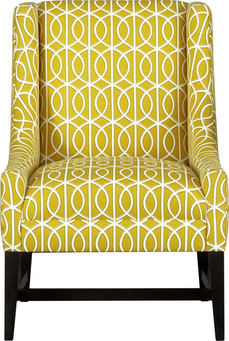Yellow Accent Chair For The Home Pinterest Patterned