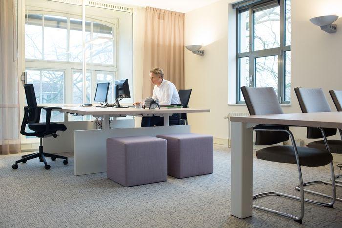 Projectinrichting, Directiekantoor, werkplek, kantoorinrichting.