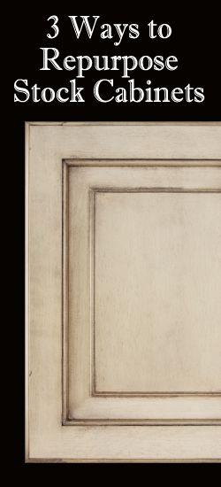 3 Ways To Repurpose Stock Cabinets
