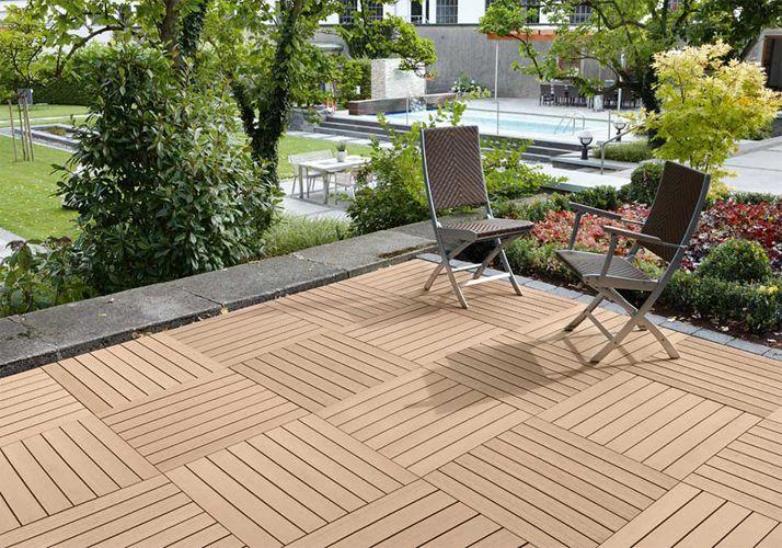 DIY WPC Decking Price, Wood Plastic Composite Deck Norway