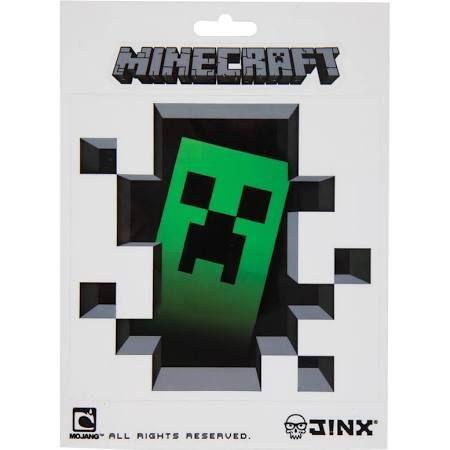Minecraft Creeper Inside Stickers