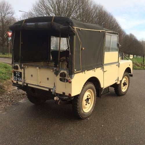 "Used Land Rovers For Sale: Landrover 80"" LHD Series 1 1952."
