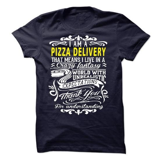 I am a Pizza Delivery - #gifts for girl friends #homemade gift. GUARANTEE => https://www.sunfrog.com/LifeStyle/I-am-a-Pizza-Delivery-18915352-Guys.html?68278