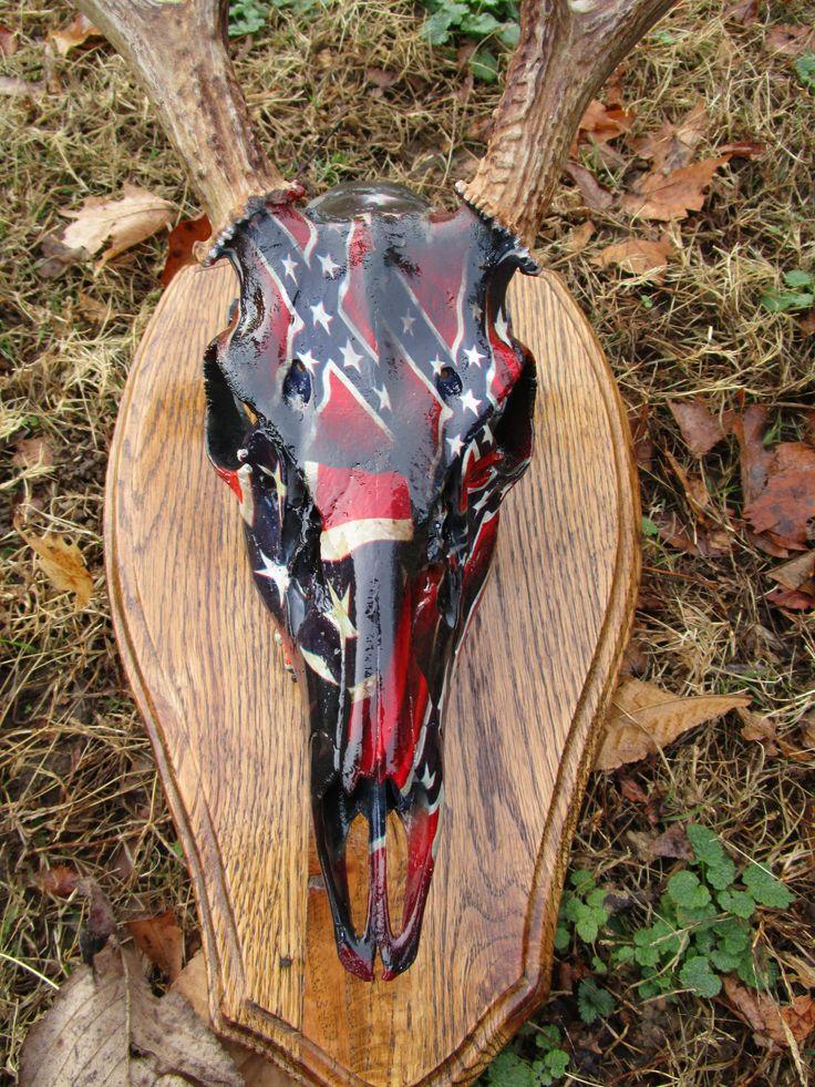 Hydrodipped Deer Skull Chameleon Camo Works Offers