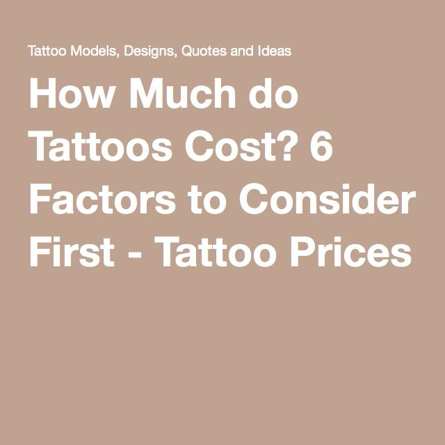 How Much Do  Letter Tattoos Cost