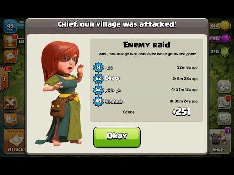 Clash of Clans Town Hall 6 Defense (CoC TH6) BEST Trophy Base Layout Def...