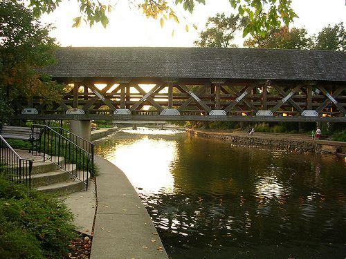 bridge on River Walk