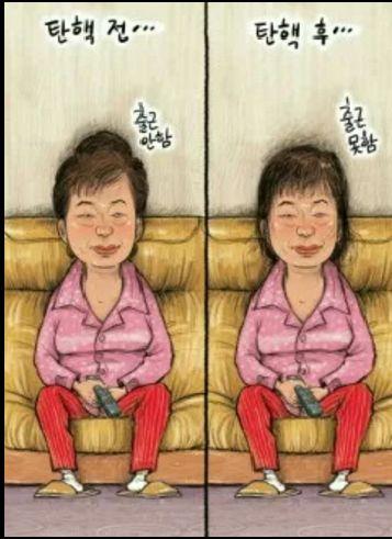 한국인의 패러디 감각은 세계 쵝오~ #탄핵 #박근혜 #패러디
