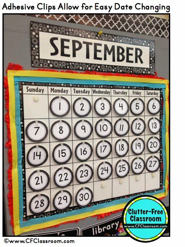 Classroom Calendar Bulletin Board Ideas : Ideas about classroom calendar on pinterest