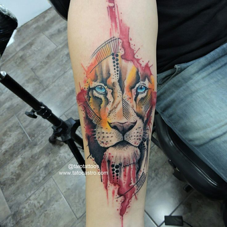 171 best tattoos by tato castro images on pinterest city tattoo lion watercolor tattoo done at rock city tattoo shop by tato castro tag your friends if thecheapjerseys Gallery