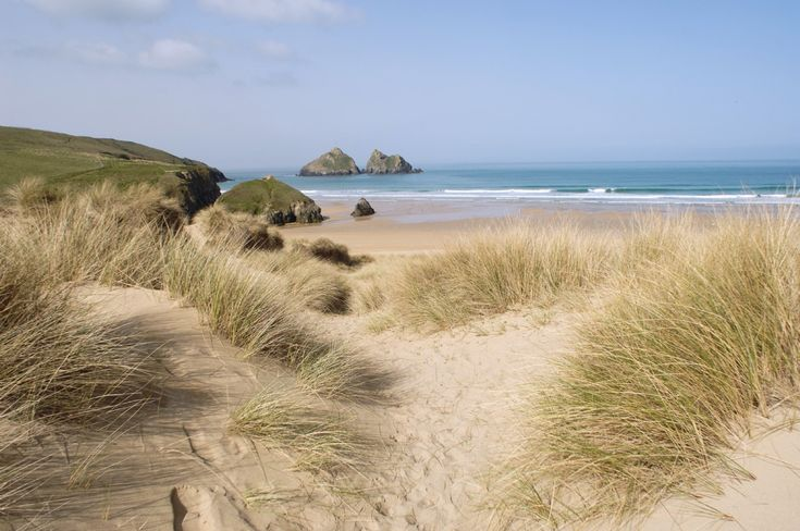"""""""The Limit, Holywell Bay Beach, *Holywell Bay, Cornwall, United Kingdom*"""" [The opening scene to the James Bond movie 'Die Another Day' was filmed on Holywell Beach]~[Photo source: *Unique Home Stays*] 'h4d' 120815"""