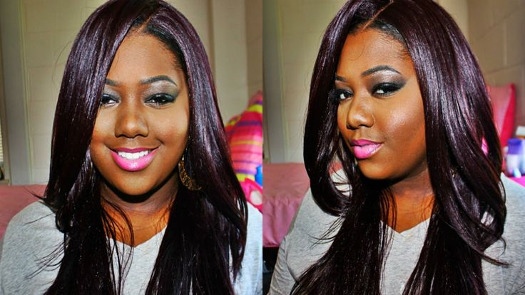 Its A Wig! Friday Night Hair GLS11 Synthetic Lace Front Wig 99J