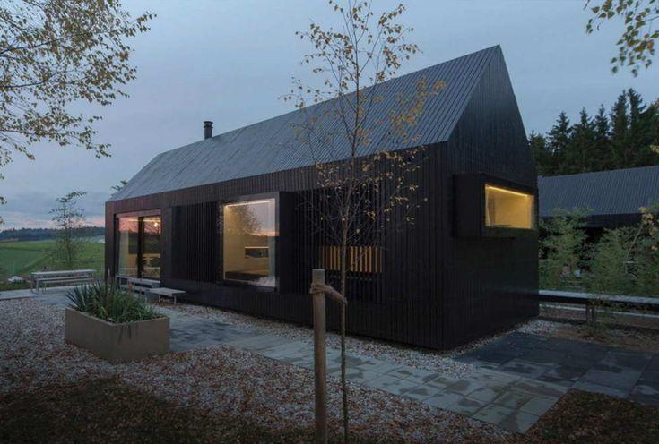 Типовой дом-сарай в Германии