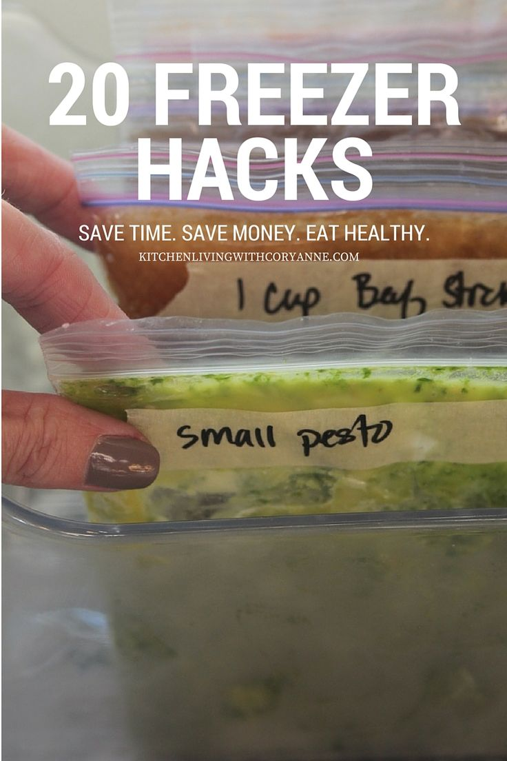 Easy to follow Freezer Hacks by Coryanne Ettiene #AlexiaFreezerLove