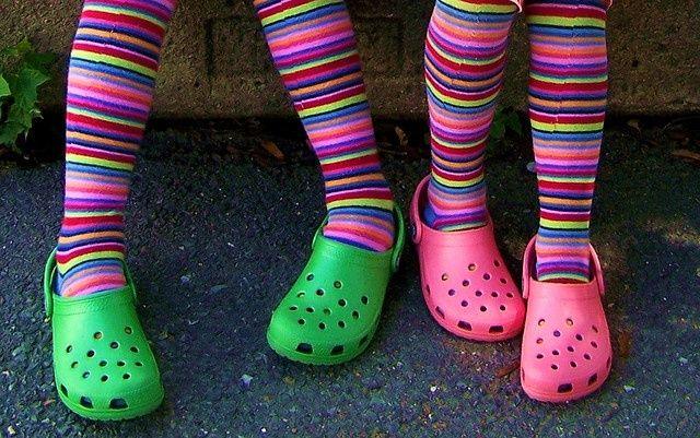 Crocs An Example Of Short Lived Fashion Fad Fads Classic And Trend Pinterest Hands