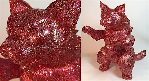 Unpainted Red Glitter King Negora from Max Toy Co