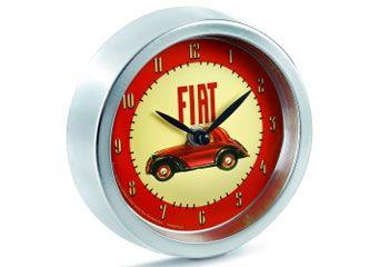 Fiat 16 cm Clock   500 Merchandise   Fiat Merchandise   SG Petch