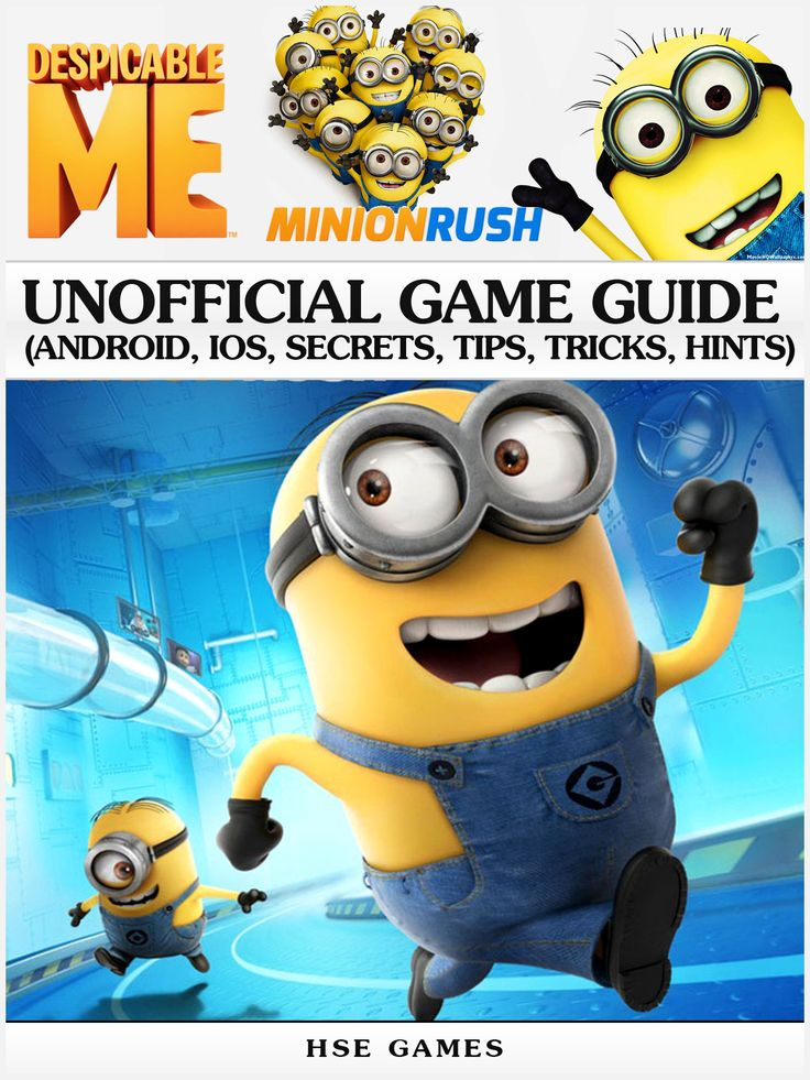 """Gamers and Despicable Me fans! It's National Video Games Day and now available on eBooks2go.com is HSE Games' """"Minion Rush"""" Unofficial Game Guide that covers how to download the game for free, provides a Despicable Me overview, as well as explains what items/combos do and how to use them to your benefit. Download a copy today for just $2.99."""
