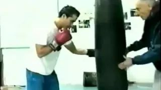 Lecciones de Boxeo Ejercicios en el saco de box. - YouTube