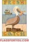 Fresh Catch Garden Flag - 4 left