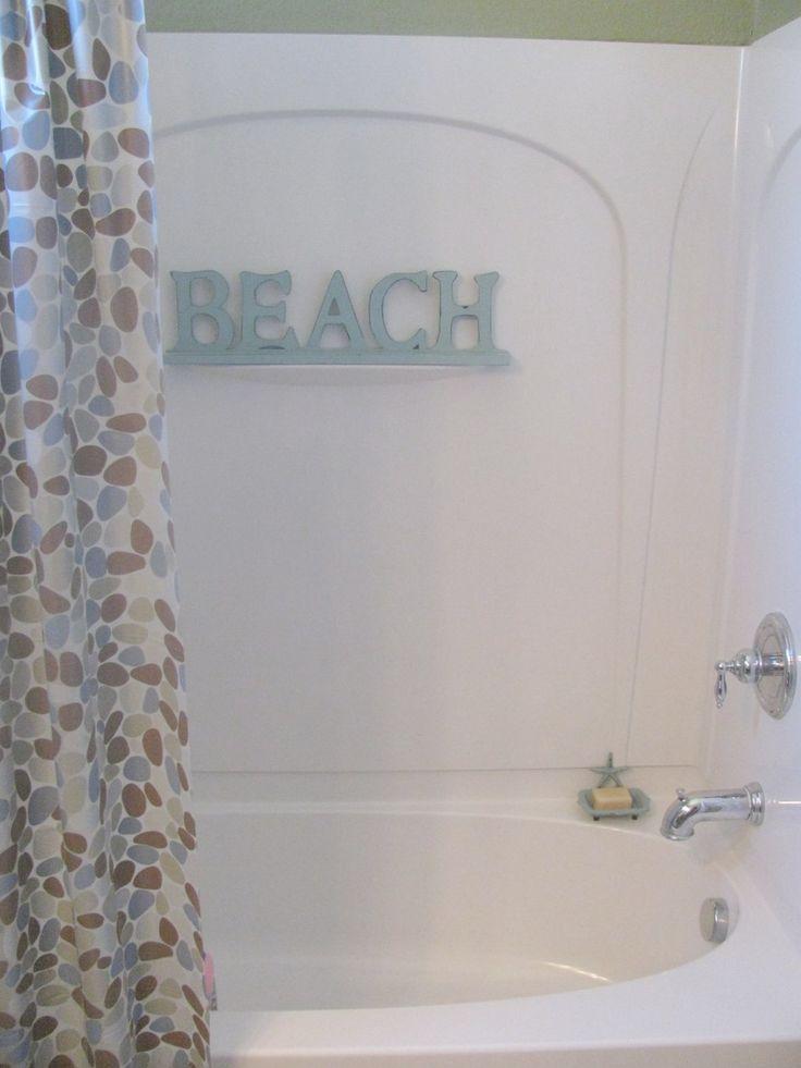 Best 25 beach themed bathrooms ideas on pinterest beach for Bathroom beach theme decorating ideas